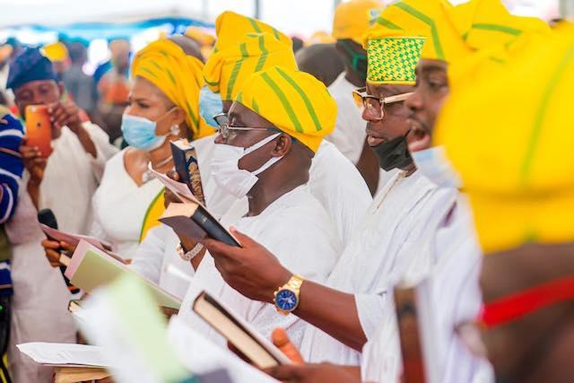 Ogun council chairmen take oath of office