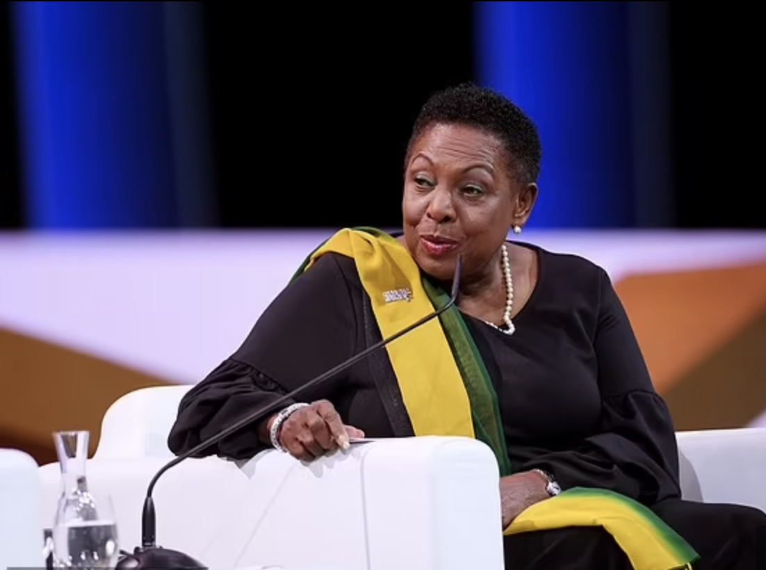 Olivia Grange, Jamaica's minister of sports says her country will seek reparations from UK for slavery