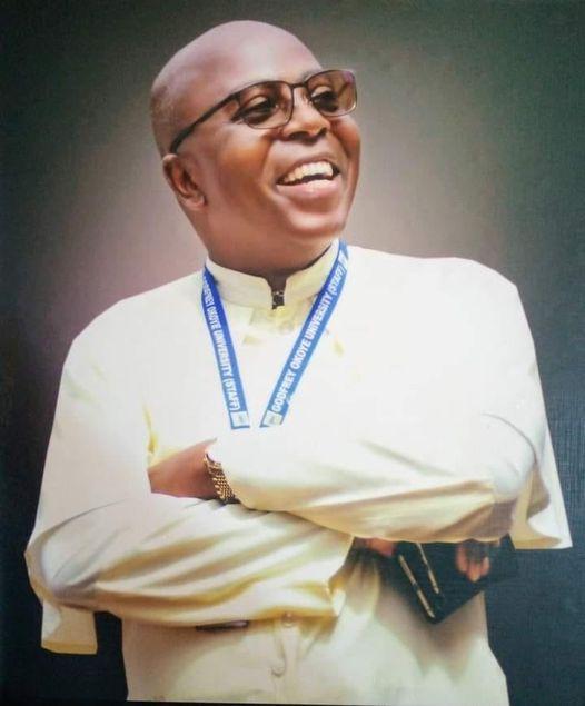 Prof. Christian Anieke, Vice-Chancellor, Godfrey Okoye University,