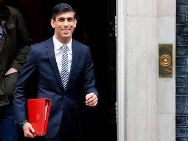 Rishi Sunak Britain's chancellor of the exchequer