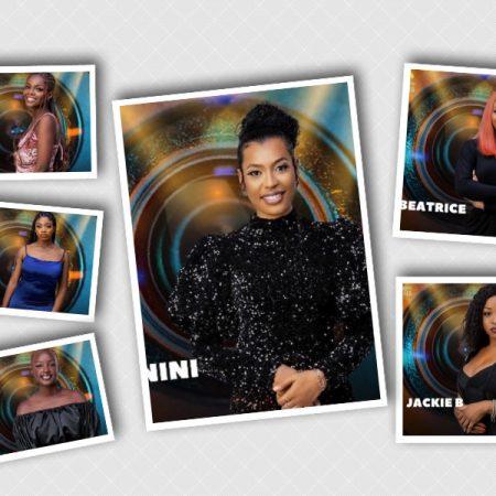 Some of the female housemates of BBNaija Season 6 unveiled Sunday