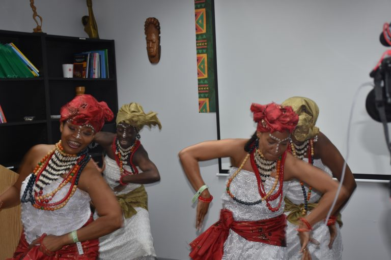 South South Cultural dance troupe at the event in New York