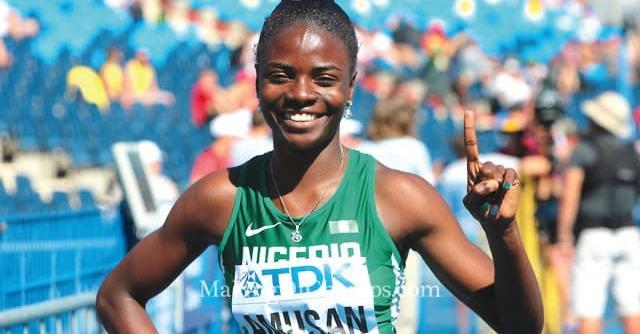 Tobiloba Amusan raises Nigeria's medal hope in hurdles
