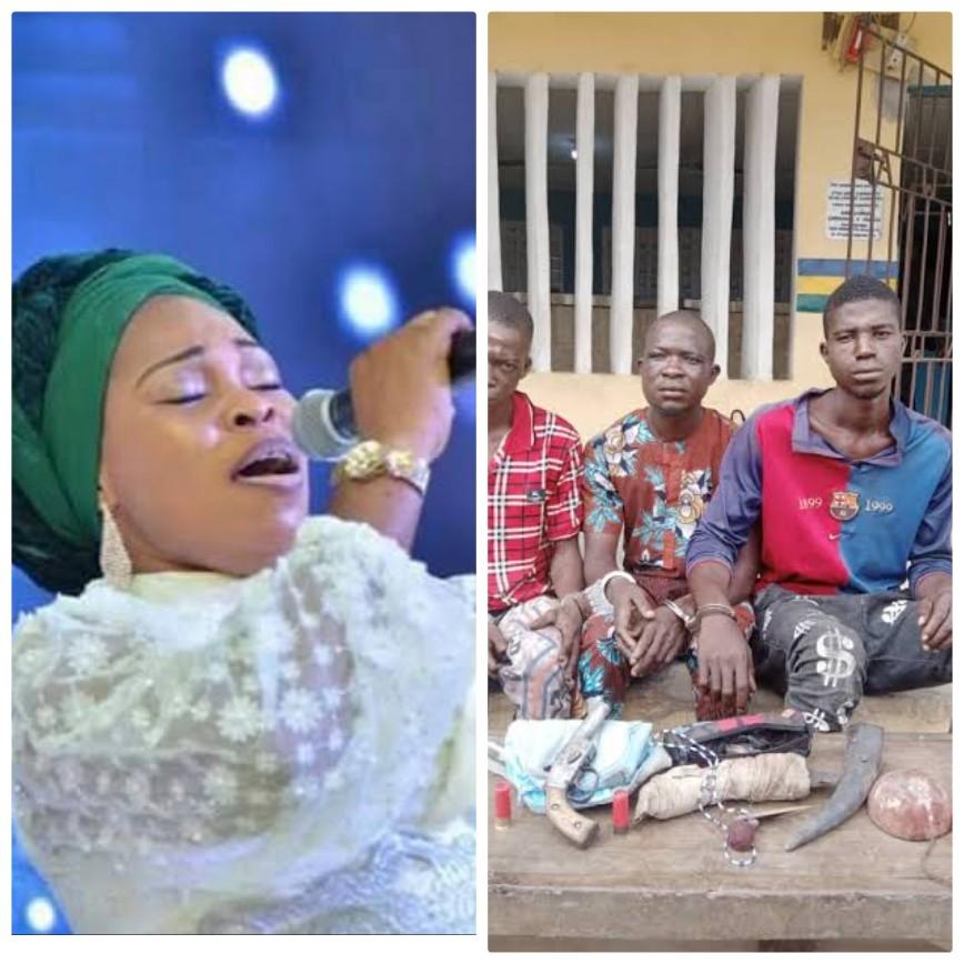 Tope Alabi robbed in Ogun State