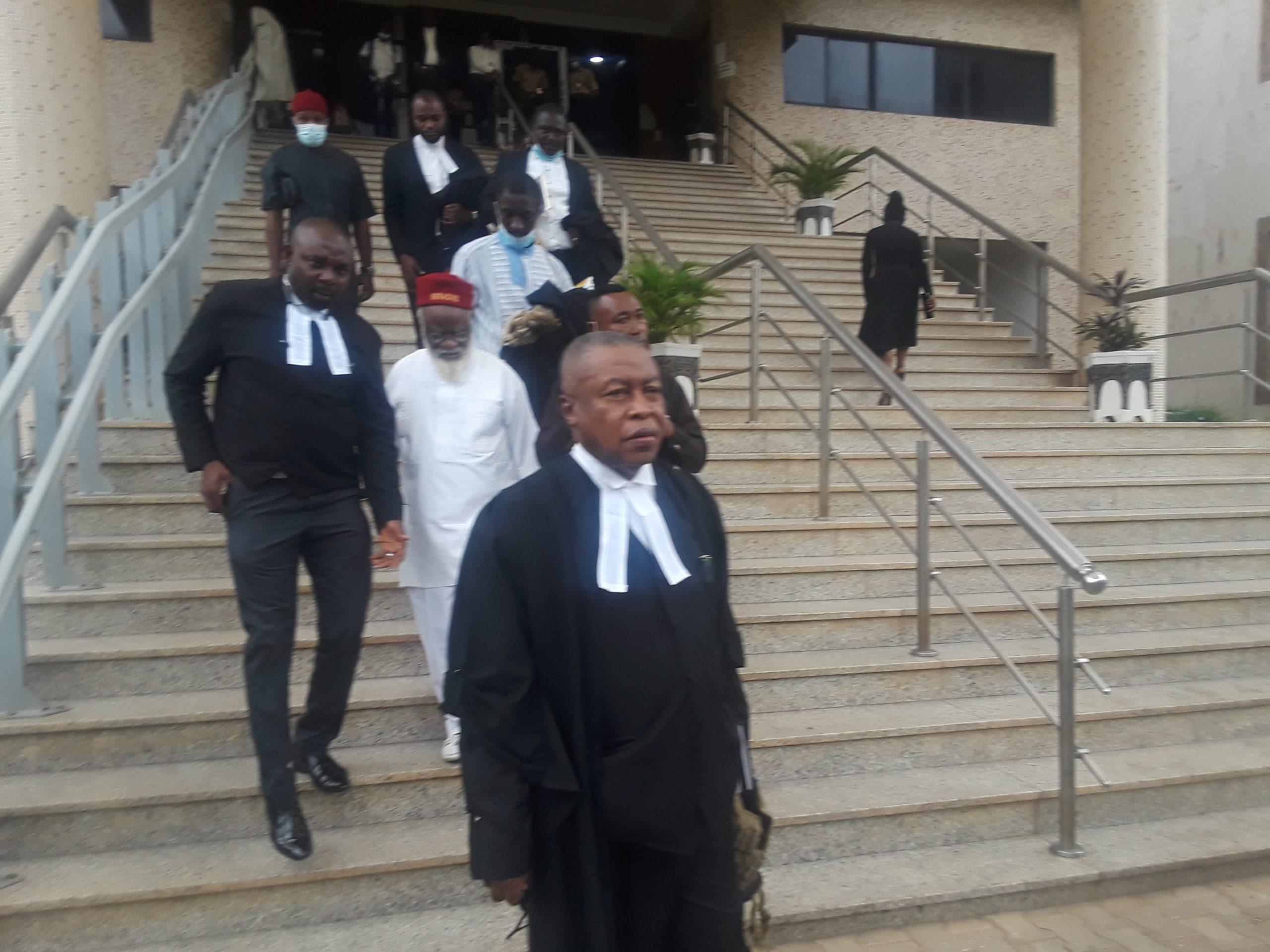 Ohanaeze Ndigbo laywer, Chief Uwazuruike: condemns failure of DSS to bring Nnamdi Kanu to court