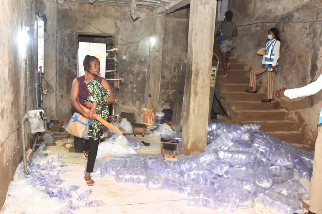 Lagos shuts 30 water factories over substandard practices