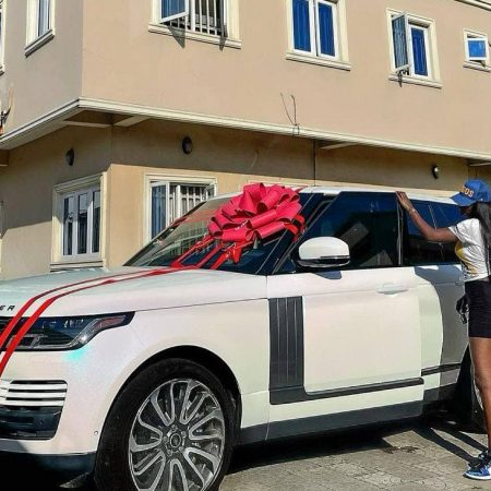 Tolu Bally shares pictures of her newly acquired Range Rover
