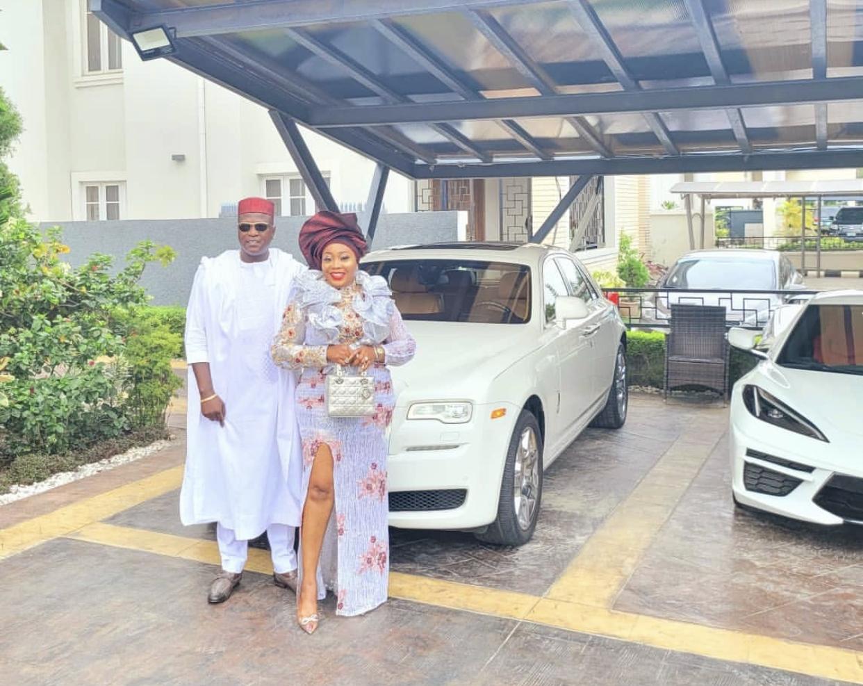 Kennedy Okonkwo and wife, Ichechi #KDLagos2021