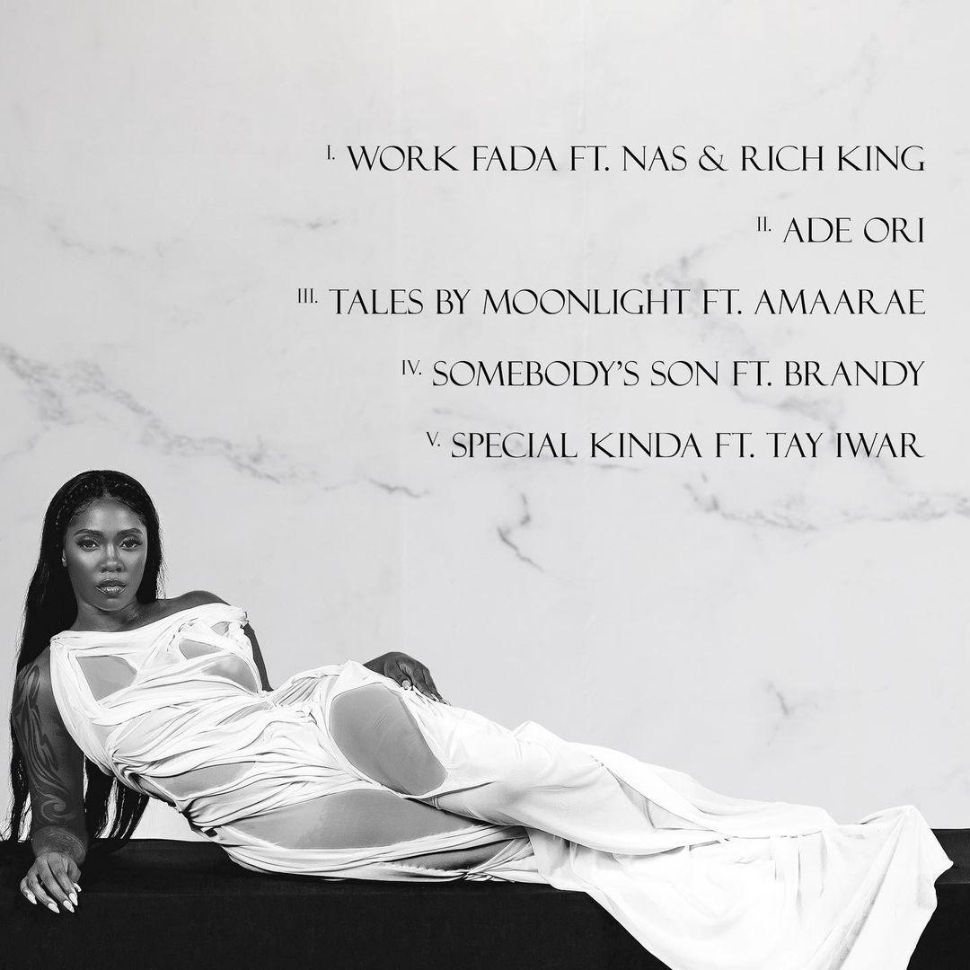 Tiwa Savage's 'Water & Garri' EP Tracklist