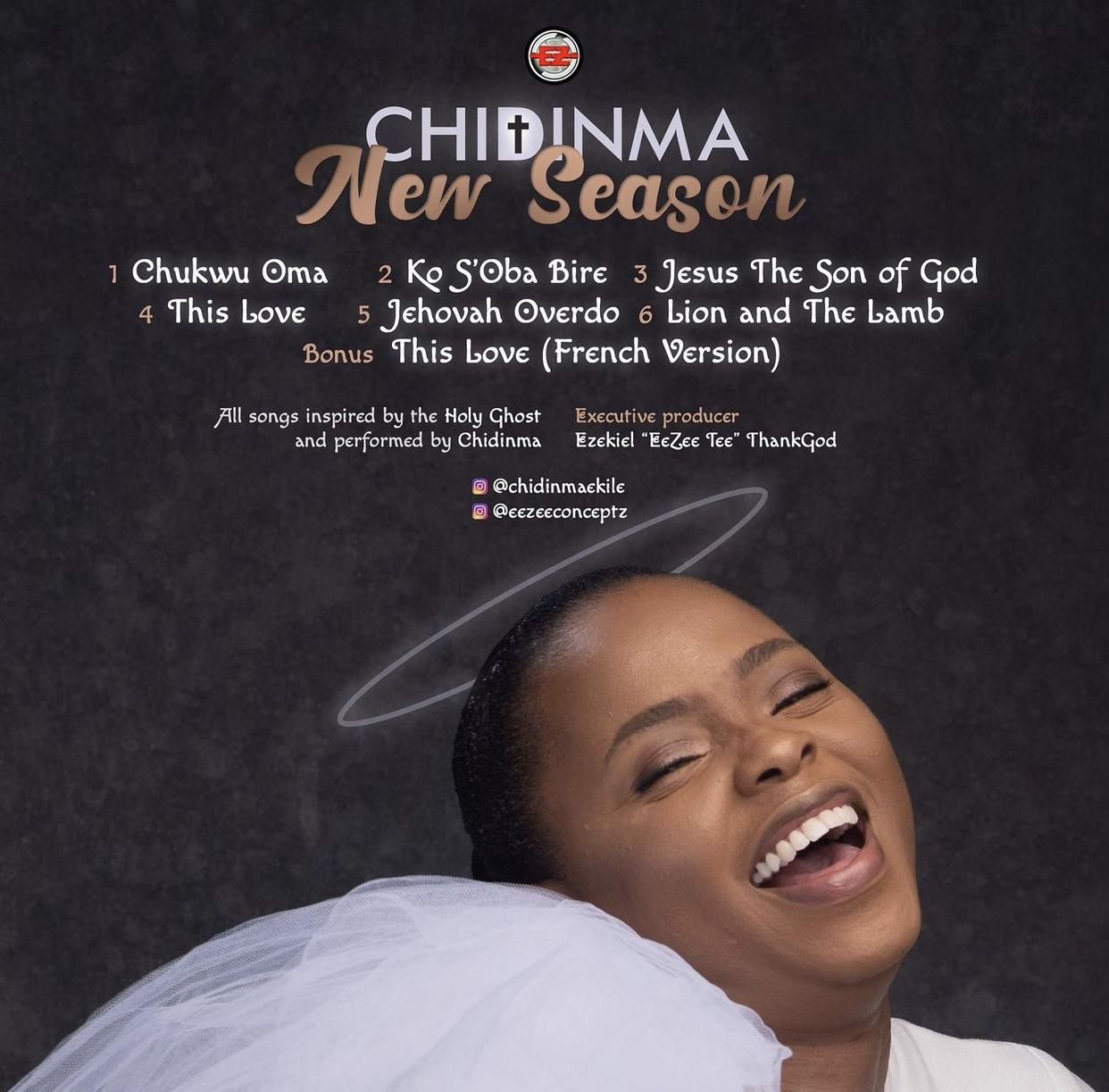 Chidinma New Season tracklist