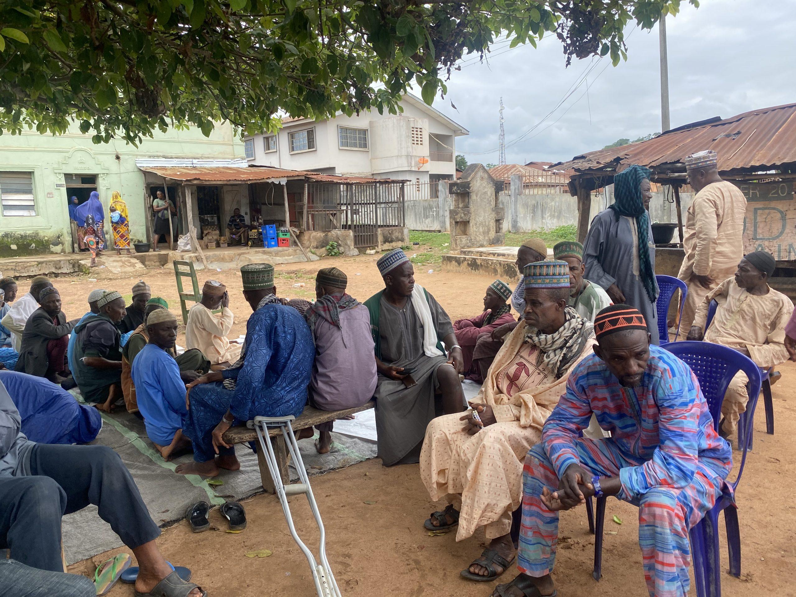 Fulani community in Ikare and Ikarimu meet Governor Rotimi Akeredolu's delegation