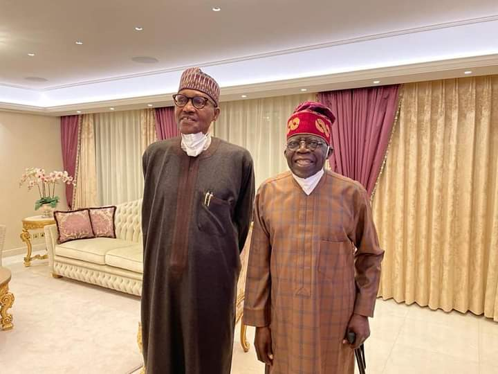 Presidency says the visit of Buhari to Tinubu in London was not to support his presidential ambition