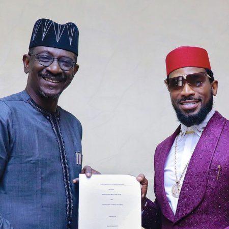 D'banj signs endorsement deal Nigerian Export-Import Bank (NEXIM)