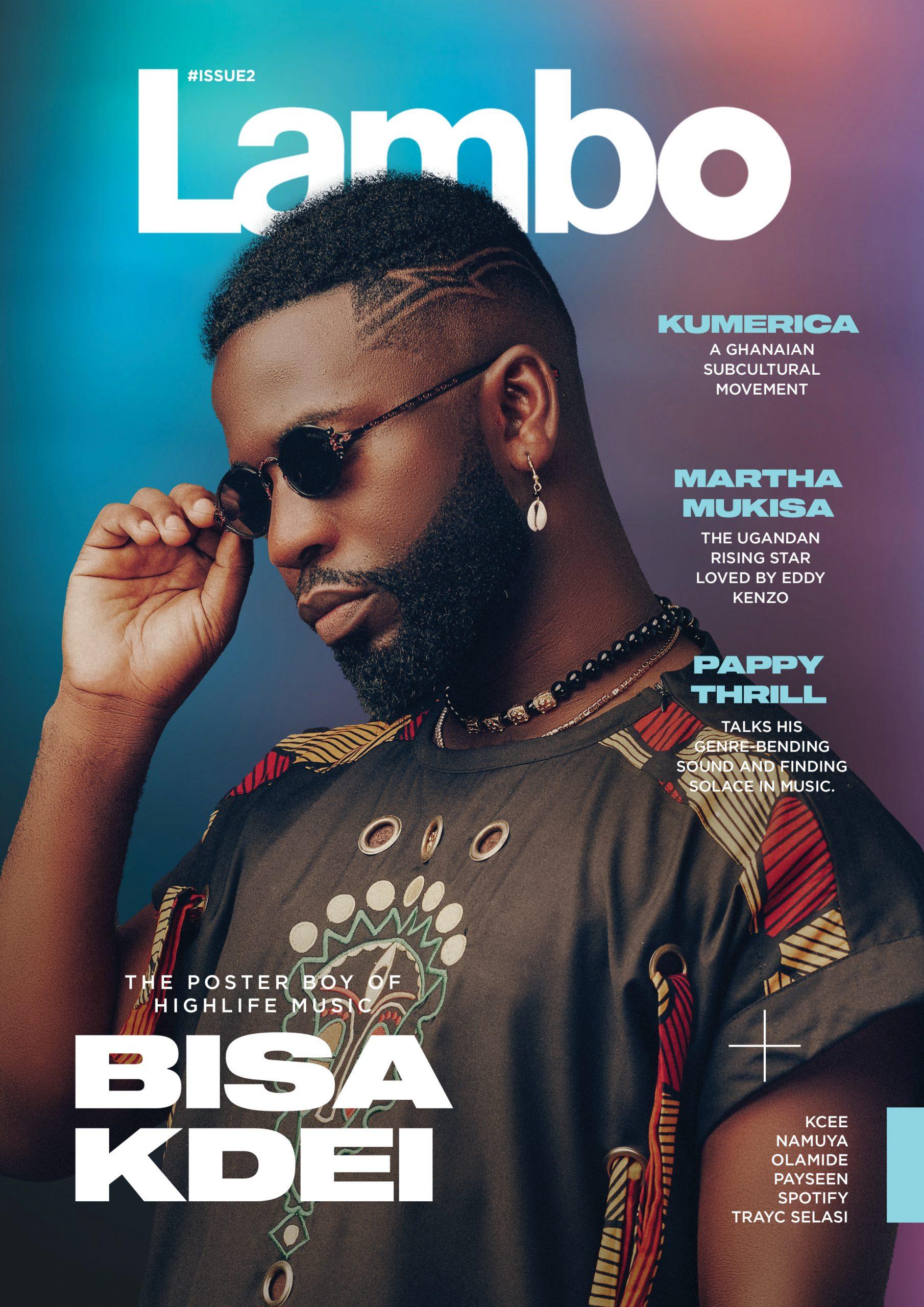 Bisa Kdei covers Lambo Xtra Magazine