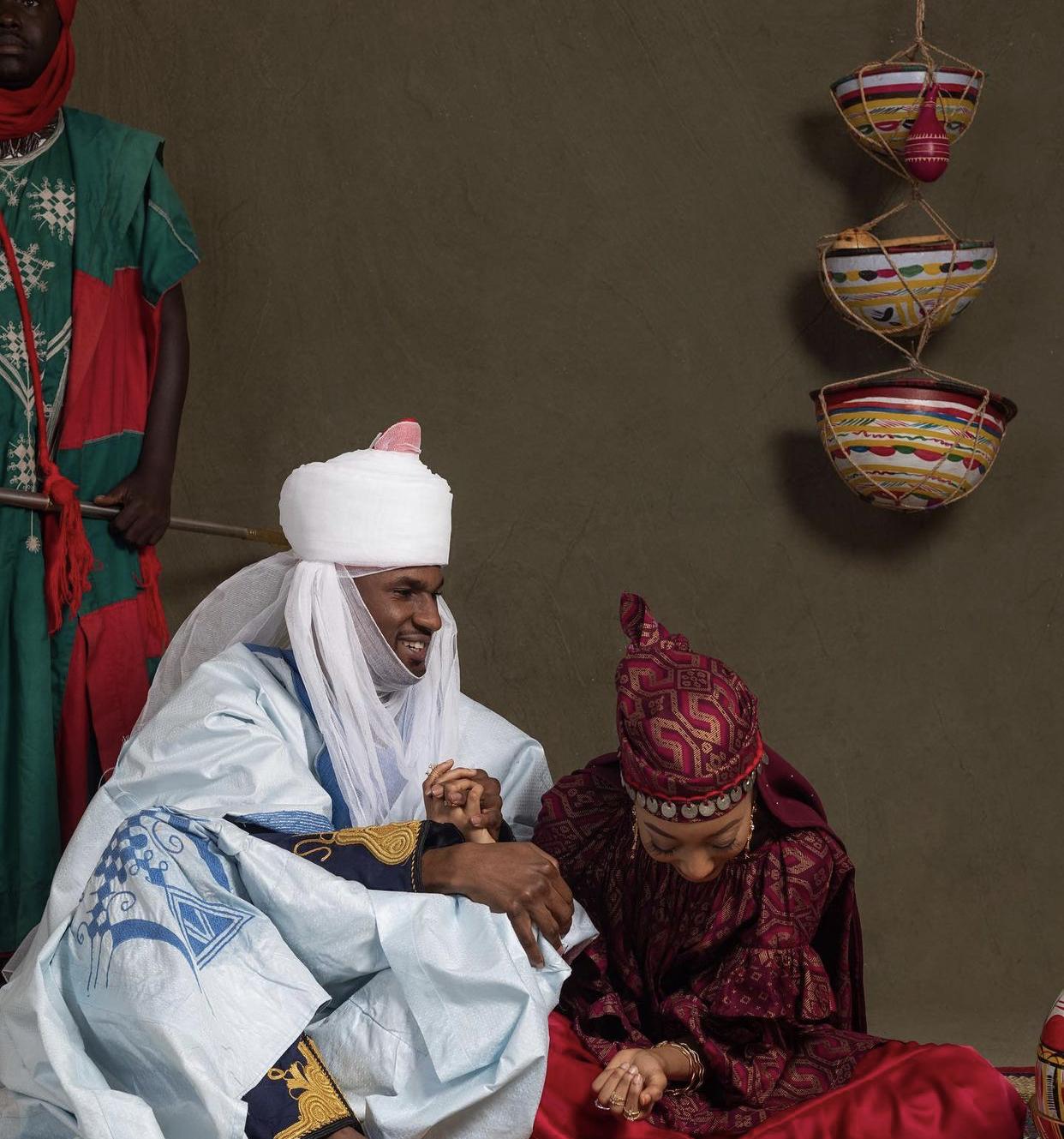 Yusuf Buhari and Zara Nasir Ado Bayero