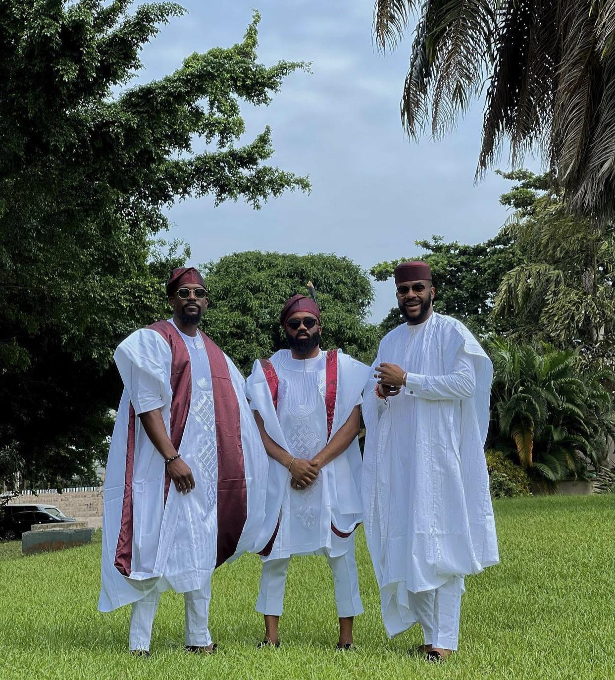 Mawuli Gavor, Noble Igwe and Ebuka #KDLagos2021