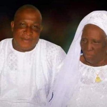 Adebayo Salami - Oga Bello- and his mom