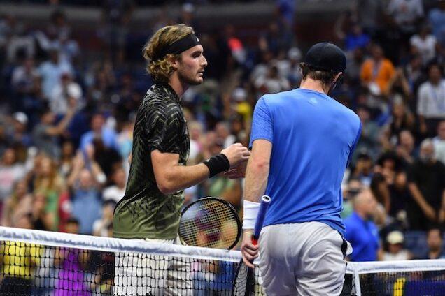 Andy Murray and Stefanos Tsitsipas