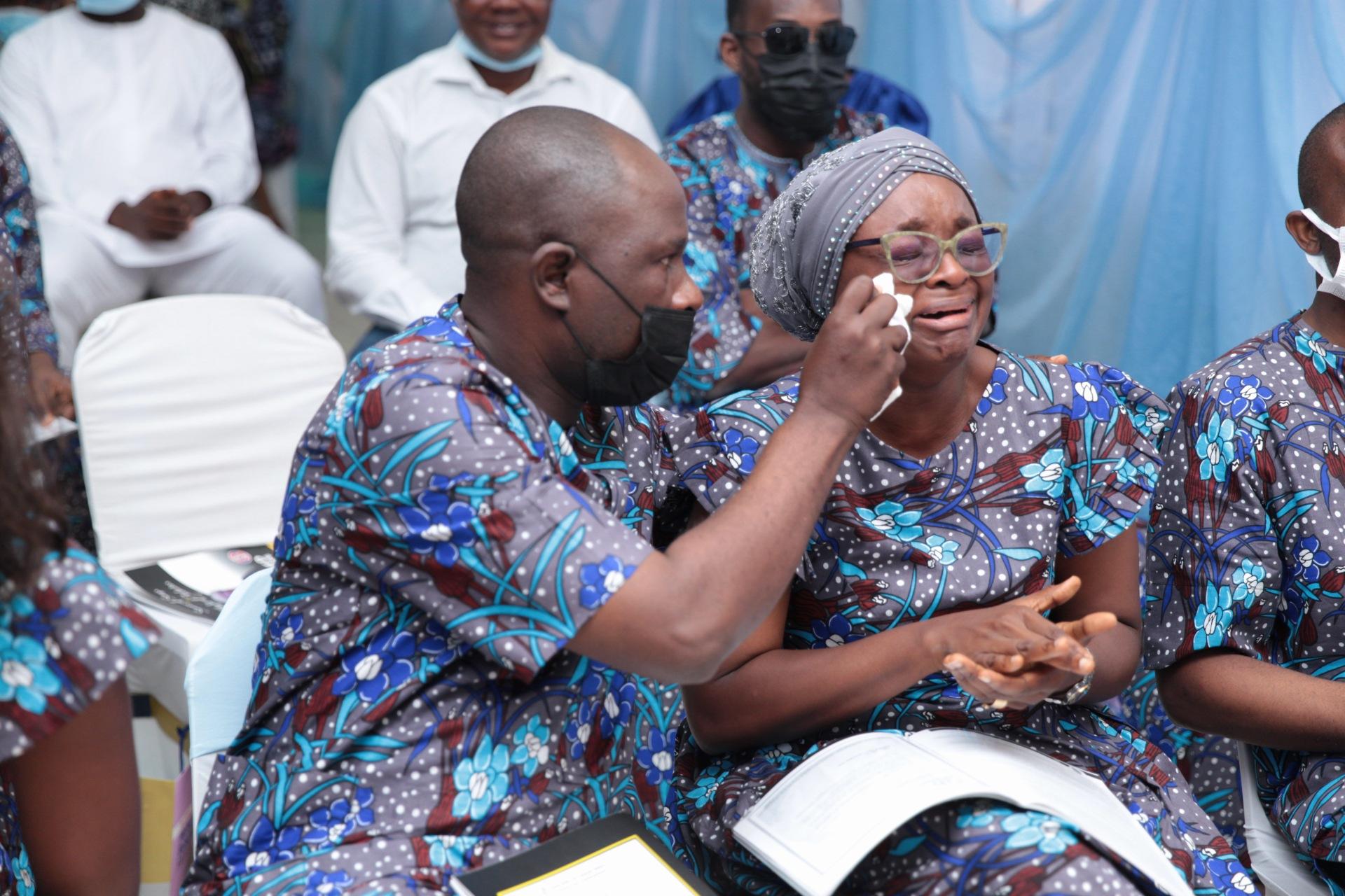 Barr Salihu Aliyu and Dr Idiat Fawehinmi Aliyu