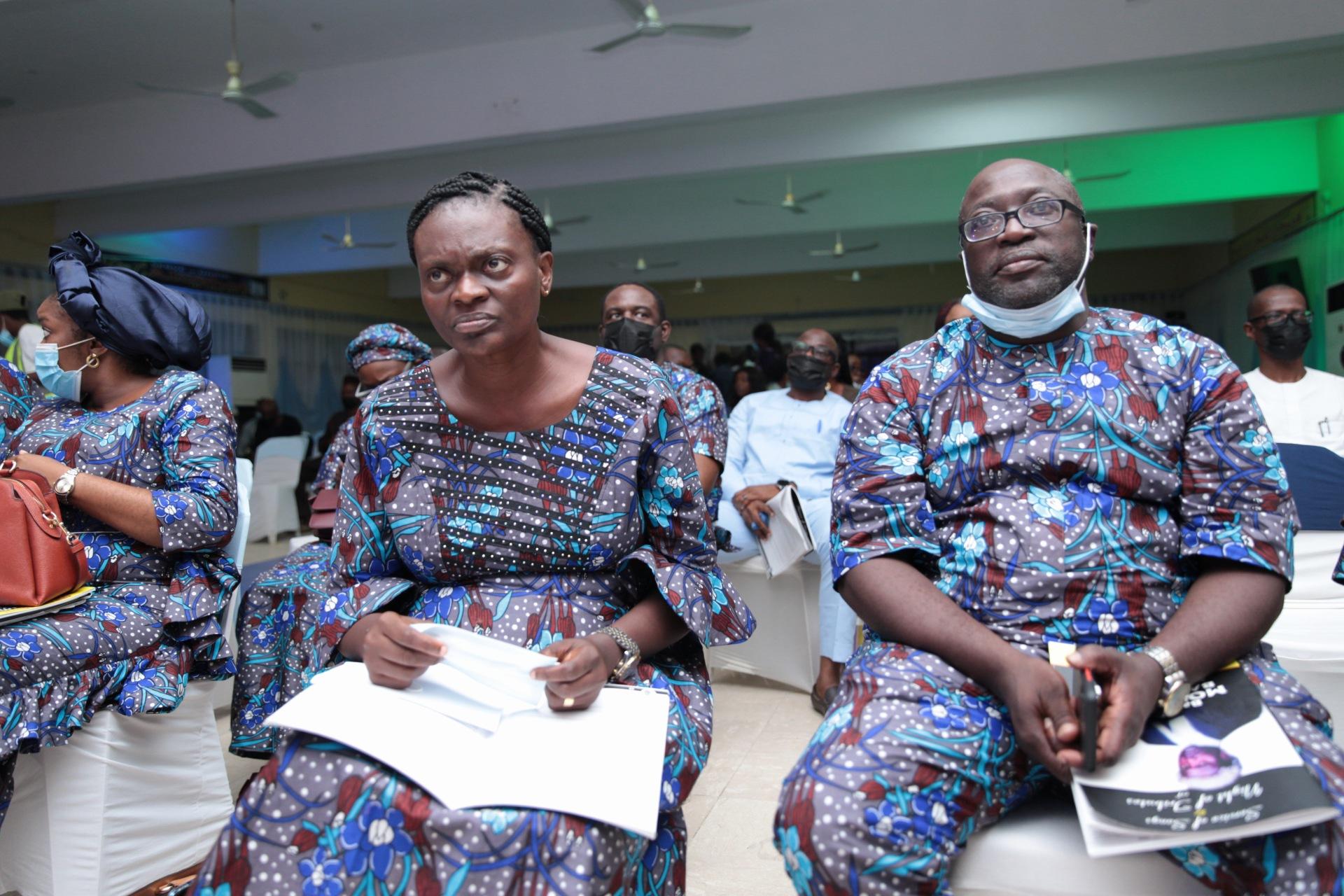 Barr. Basi Fawehinmi Biobaku and Barr Tunjj Biobaku