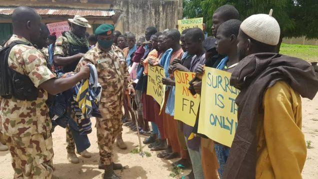 Ex-Boko Haram members