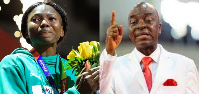 Ese Brume says she will wear her bronze medal on Bishop Oyedepo