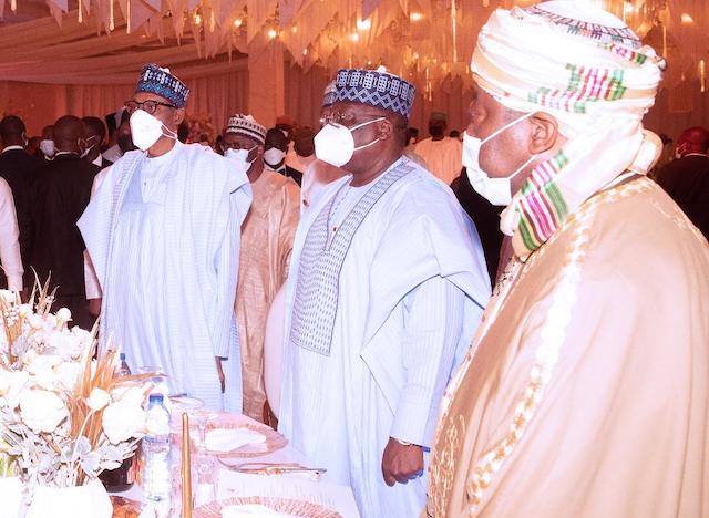 Buhari, lawan and Emir of Bichi