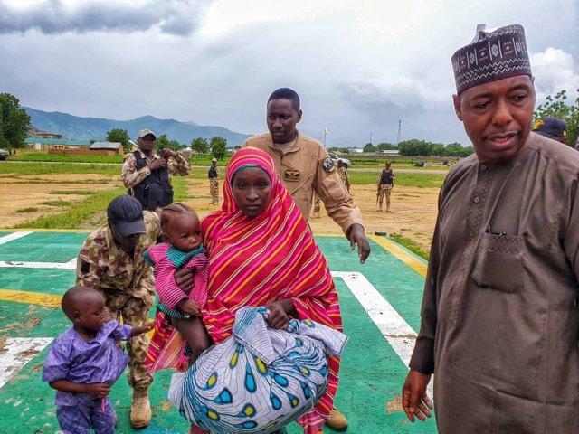 Another Chibok schoolgirl Hassana Adamu resurfaces with two kids