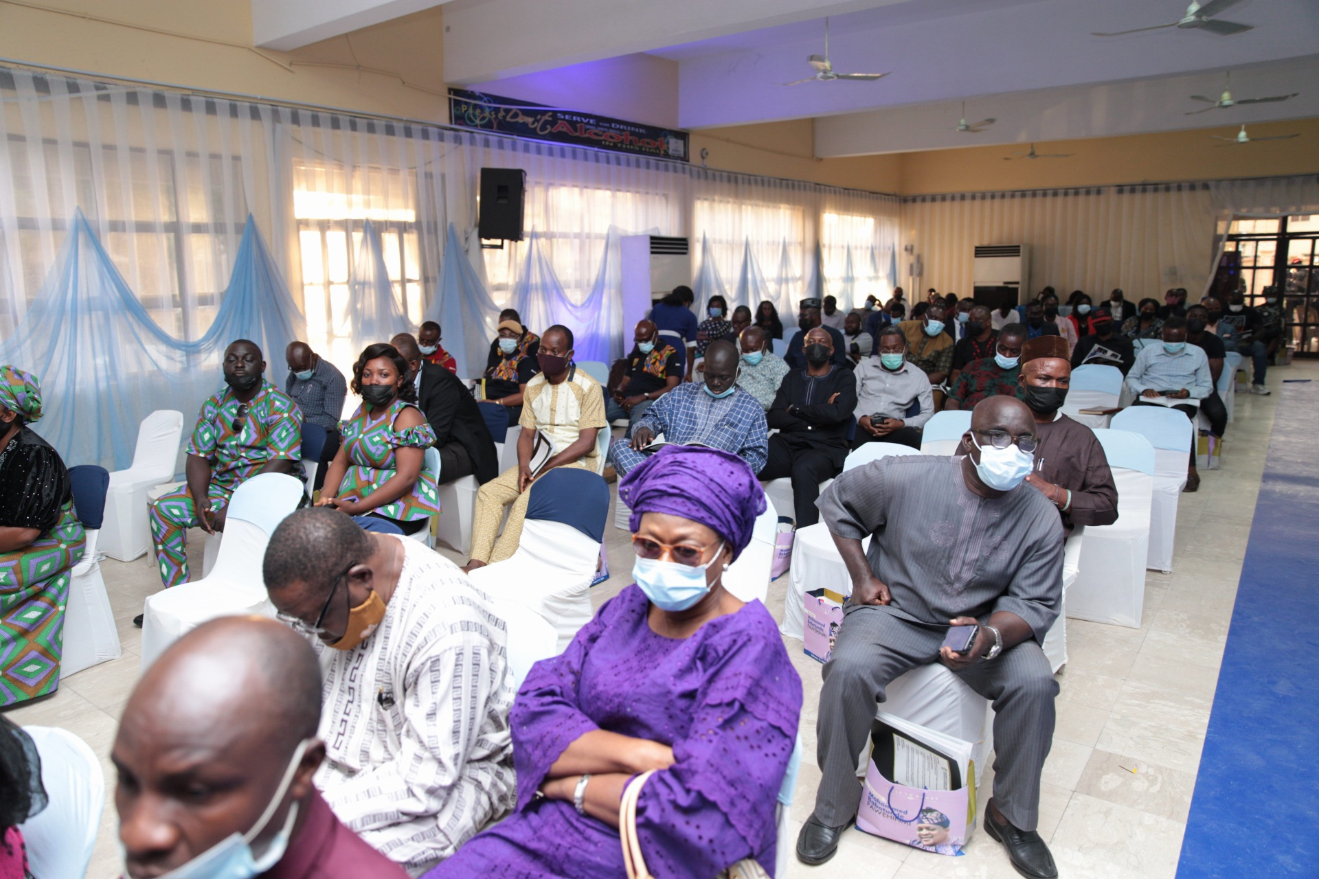 Cross section of guests at the event