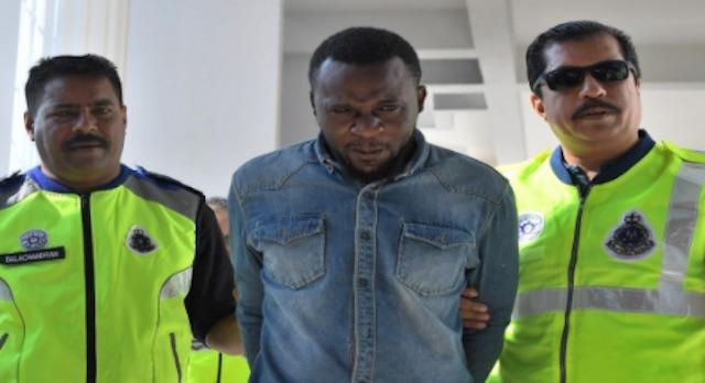 Gilbert Alowonle Oluwajuwon sentenced to death in Malaysia
