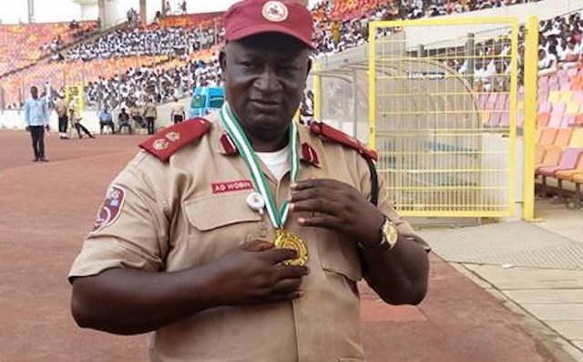 Gora Wobin FRSC Zonal commander in Jos: road safety everybody's business
