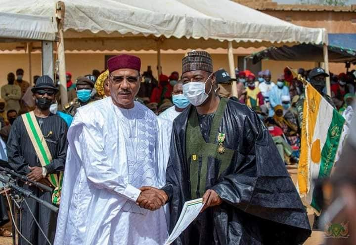 Governor Zulum and President Bazoum