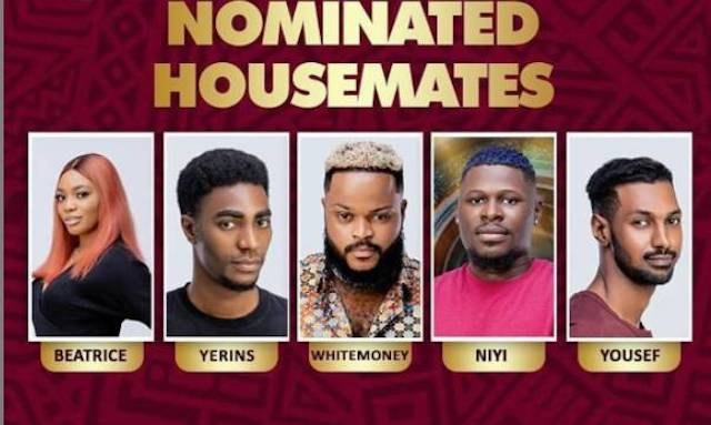 Housemates nominated for eviction