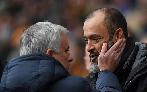 Jose Mourinho and Nuno  Espirito
