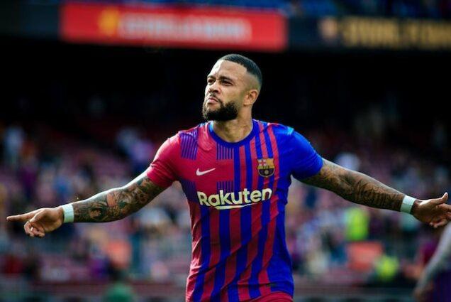 Memphis Depay finds the winner for Barcelona