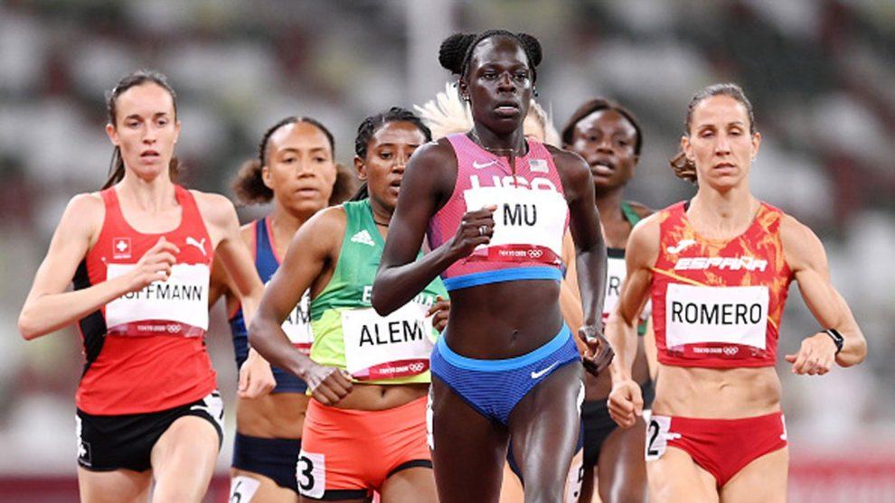 Athing Mu wins 800m gold for USA
