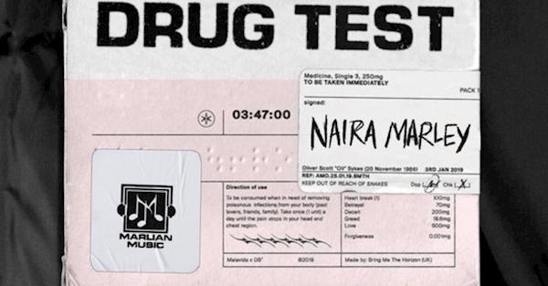 Naira Marley's Drug Test