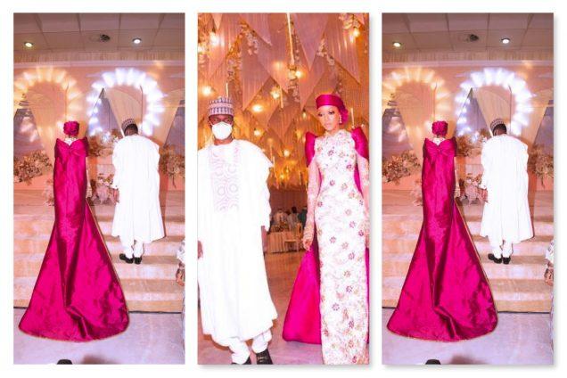 Newlyweds Yusuf and Zahra Buhari
