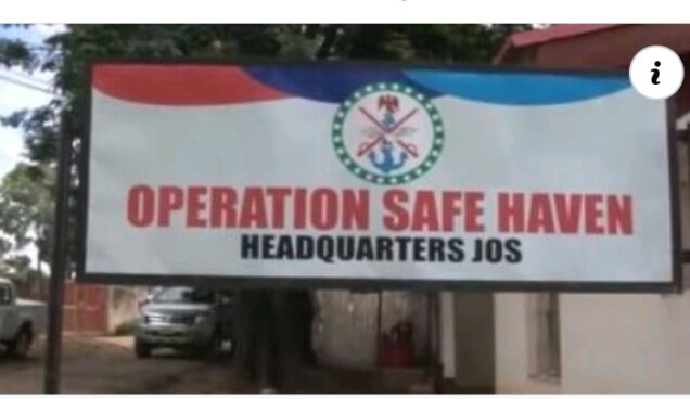 Operation Safe Haven (OPSH) commander urges Plateau people not to defend themselves