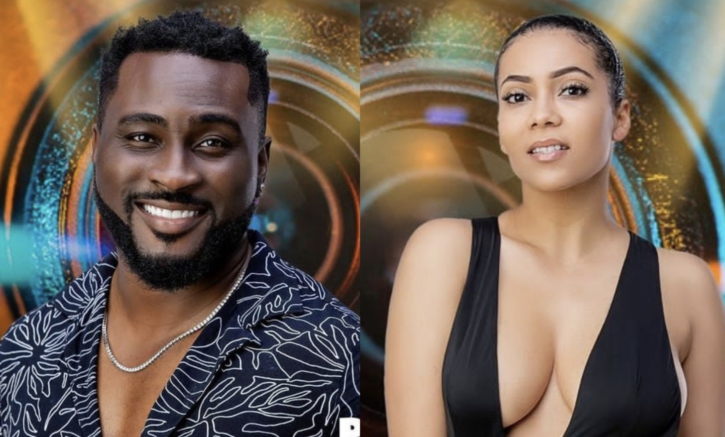 Pere and Maria are the wildcards that evaded detection by BBNaija Housemates