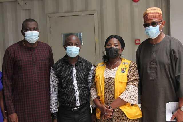 L-R; Bishop Stephen Adegbite, Rev. Bukola Adeleke, Florence Gbafe and Folusho Adekoya at the event