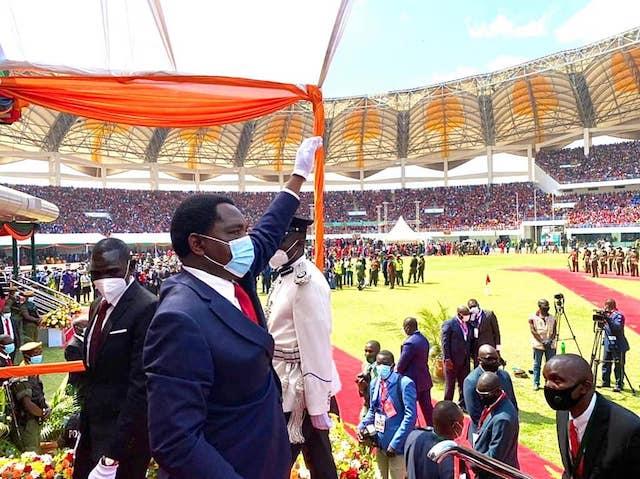 President Hichilema salutes Zambians
