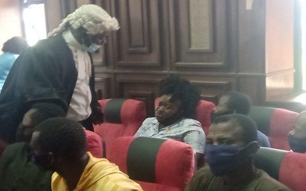 Some of Igboho's associates in court Wednesday