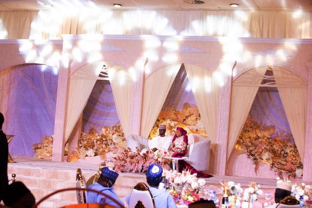 The new Mr and Mrs Yusuf Buhari