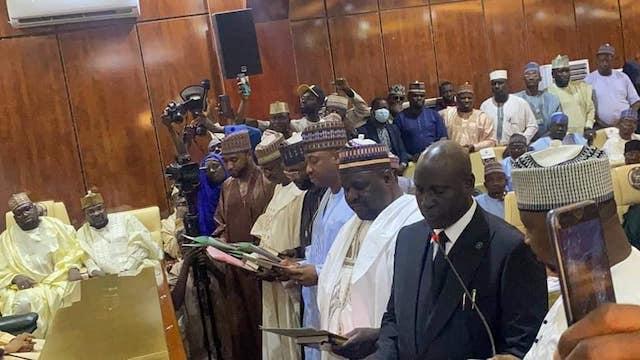 The new Zamfara commissioners take oath