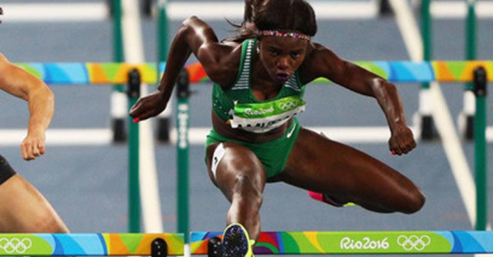 Tobiloba Amusan: a narrow miss for medal