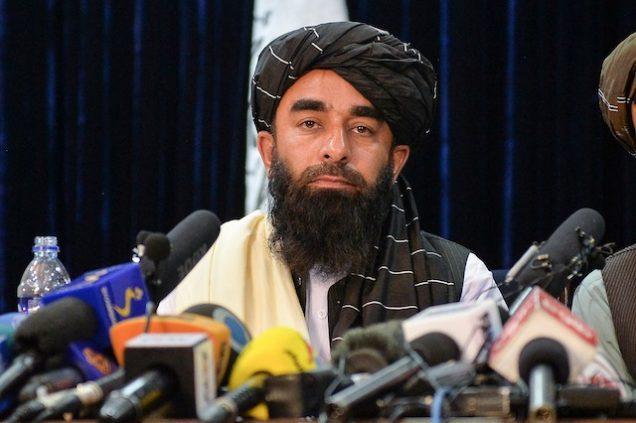Zabihullah Mujahid Taliban spokesman