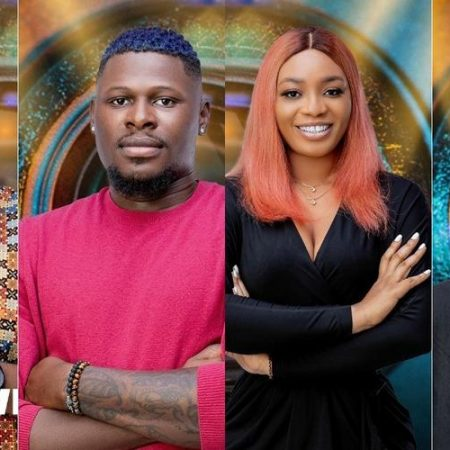 Four of the housemates for eviction