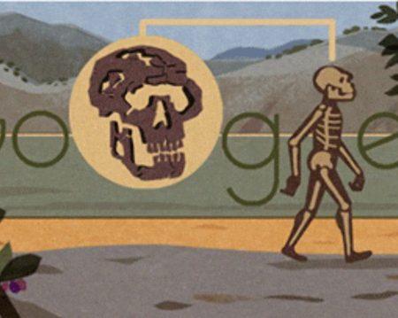 Google Doodle celebrates Turkana Boy