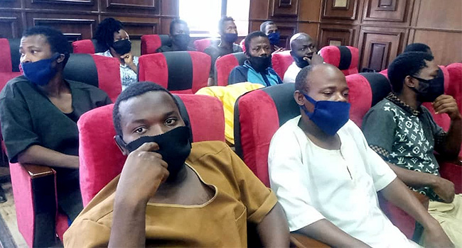 Igboho aides in court
